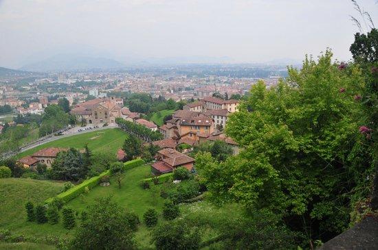 Rocca di Bergamo : Stadtansicht