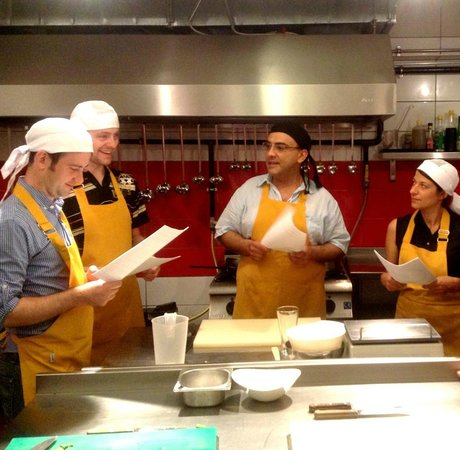 Gourmet Holidays Cooking Classes: Instructions are fun