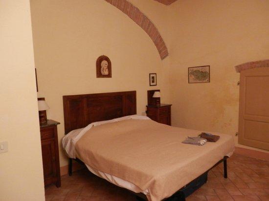 Agriturismo Fattoria Il Piano: De slaapkamer in ons appartement