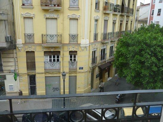 Petit Palace Ruzafa : Вид на улицу