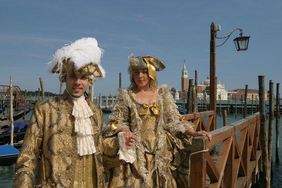 Casanova davanti al Bacino San Marco (Venezia) - Atelier Flavia