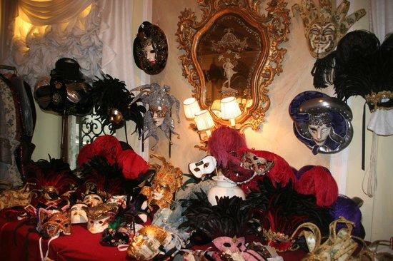 Le maschere di Atelier Flavia all'Hotel Gritti Palace