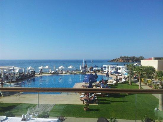TUI SENSIMAR KALLISTON Resort & Spa by ATLANTICA : view from the main restaurant