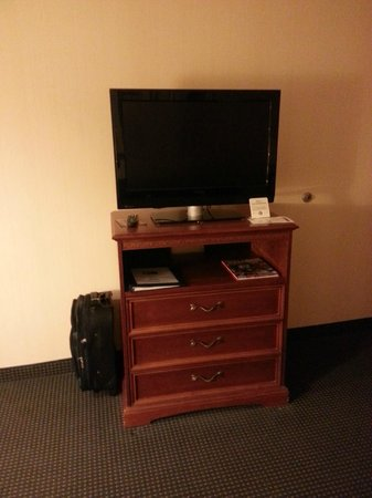 Holiday Inn Express Buffalo Airport: tv in room