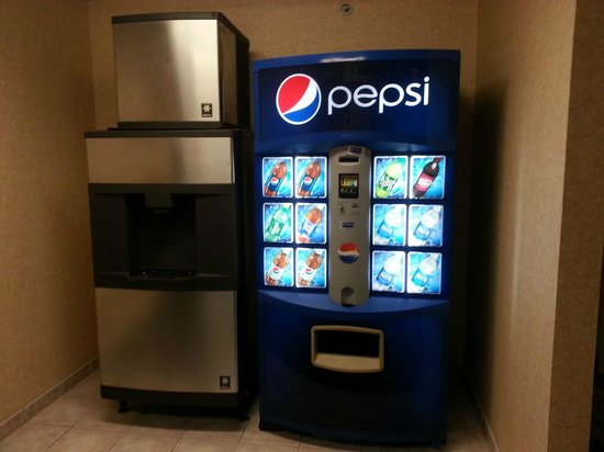Holiday Inn Express Buffalo Airport: vending machines