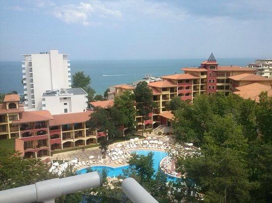Park Hotel Golden Beach: вид с балкона