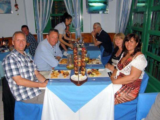 Atlantico Bar Restaurant: Our final night at Atlantico