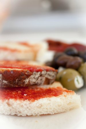 Tip Top One Day Cruise Malta: Appetizer right on start ;)