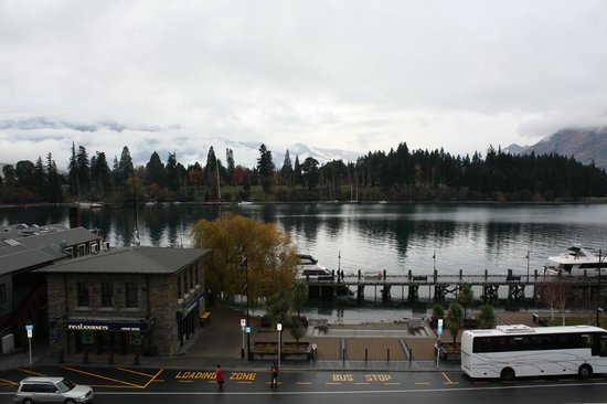 Crowne Plaza Queenstown: View from our room