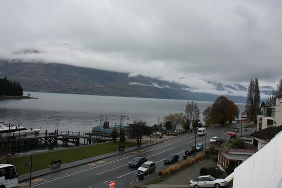 Crowne Plaza Queenstown: View from our balcony