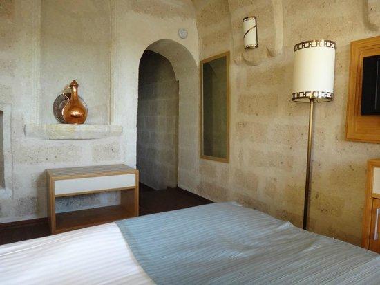 Goreme Kaya Hotel: ツインルーム