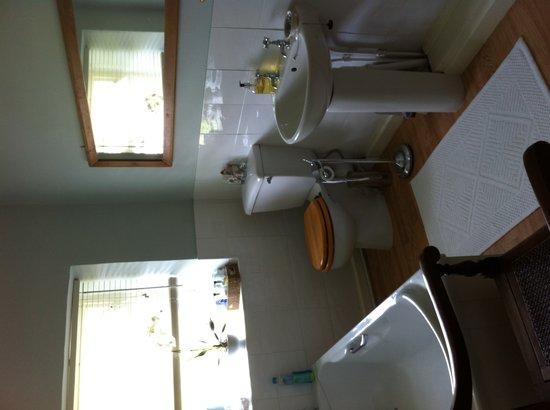 Dufton House Bed & Breakfast: En-suite bathroom Garden room