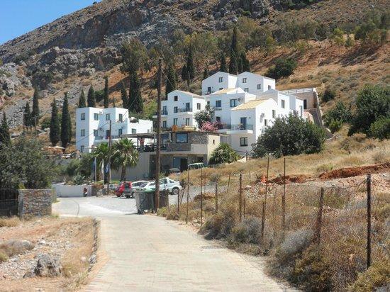 Creta Blue Suites : Vue hôtel