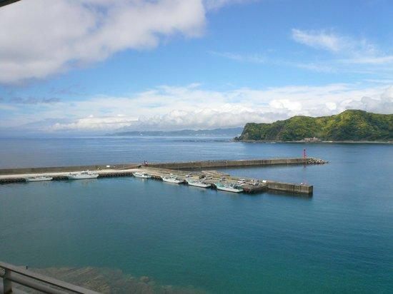 Kichimu: View of Port KOMINATO from Guest Room