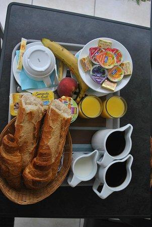 Hotel Residence Les Flots : petit déjeuner
