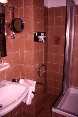 Hotel Rheinkrone: Badezimmer