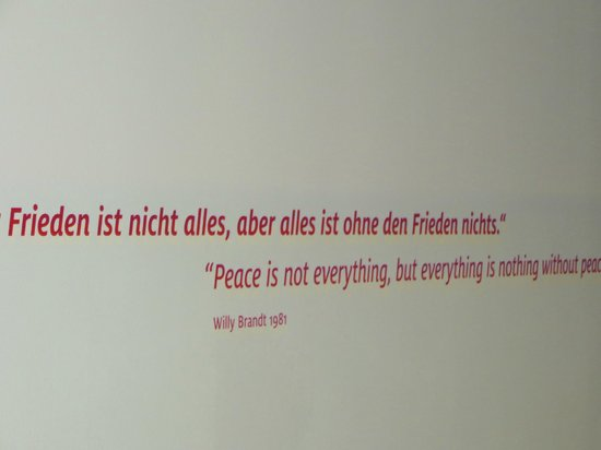 "Forum Willy Brandt Berlin: Willy Brandt on ""Peace"""