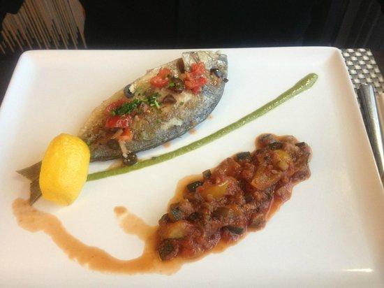 Le Riva : Plat de poisson