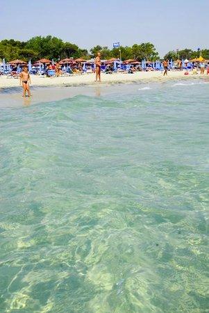 Hotel Club Koinè : Spiaggia convenzionata Hotel Koinè Otranto