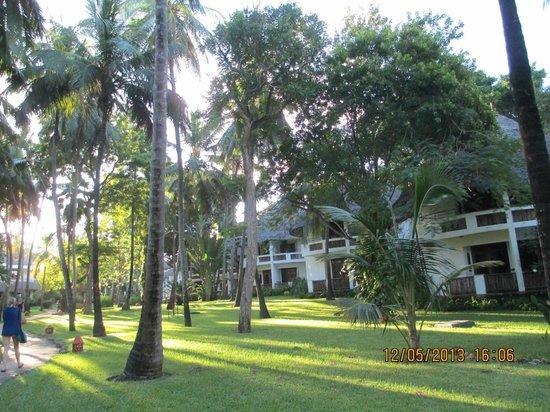 Severin Sea Lodge: Hotelgelände