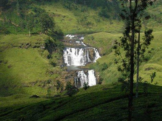 Nuwara Eliya, Sri Lanka: The Falls