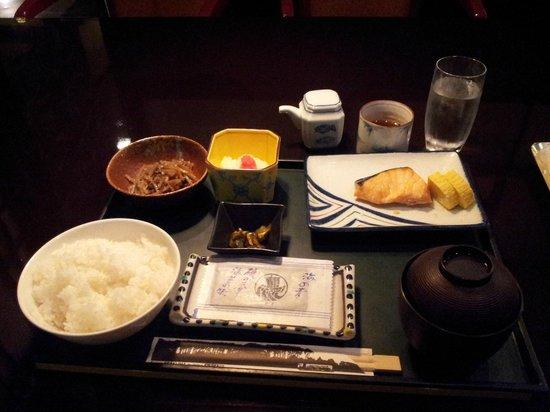 Nagoya Sakae Washington Hotel Plaza : 日式早餐