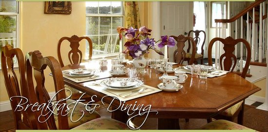 Enchanted April Inn: The Dining Room