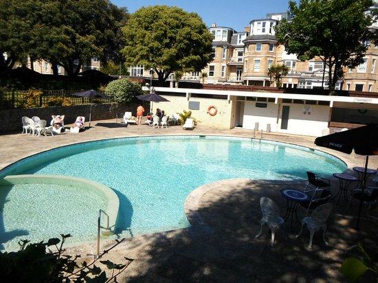 Swimming pool picture of the savoy hotel bournemouth - Hotels in bournemouth with swimming pool ...