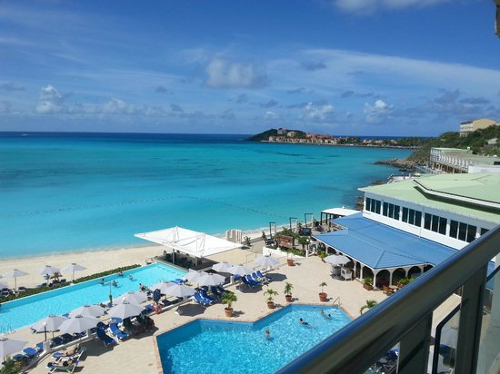 Great Bay Beach Resort Spa View From Deluxe Ocean Room Balcony Sonesta