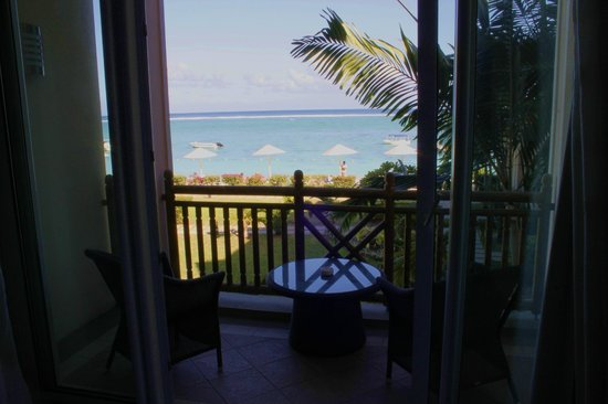 """Pearle Beach Resort & Spa: Our room """"with a view"""""""