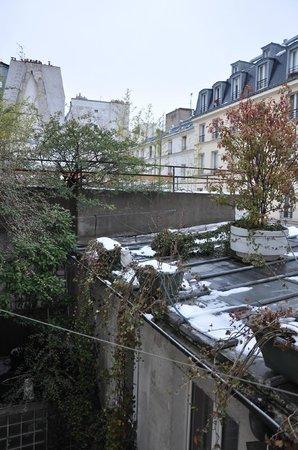 Hotel Monte Carlo : Vista sui tetti innevati