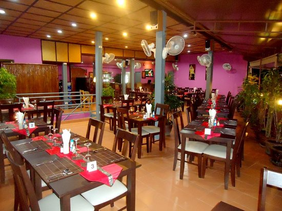 Calypso : la salle de restaurant
