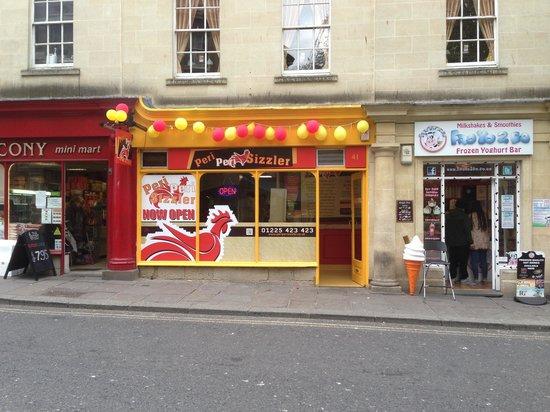 Peri Peri Sizzler Fast Food Restaurant 41 Monmouth Street In Bath GB T