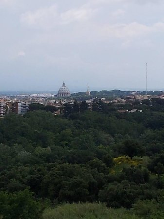 Courtyard by Marriott Rome Central Park: Our balcony view