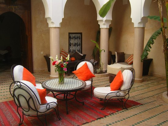 Riad Abaka : patio