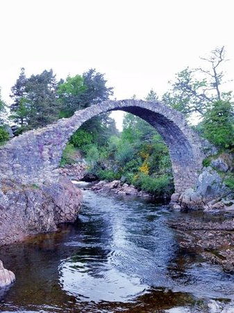 Dalrachney Lodge Hotel : Carrbridge, 5 minute walk from the hotel