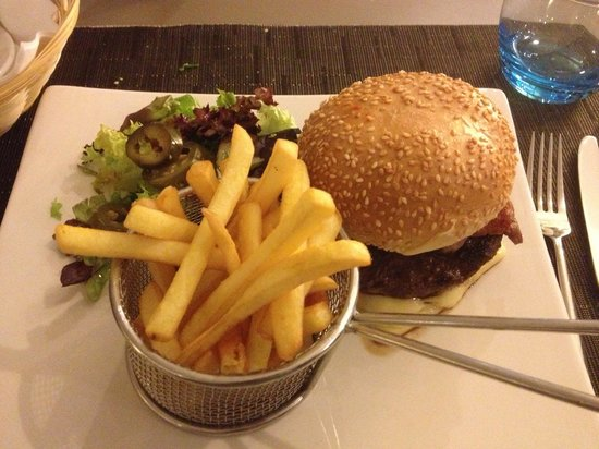 Novotel Milton Keynes: Supper at hotel