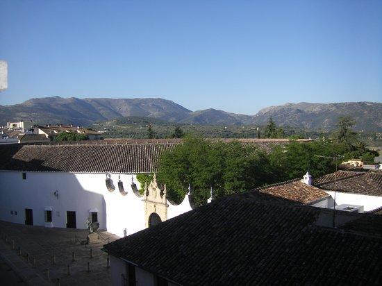 Hotel Maestranza: Blick aus dem Fenster auf die Stierkampfarena