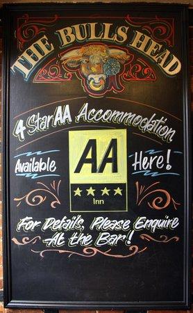 The Bulls Head: 4* Star AA Accommodation