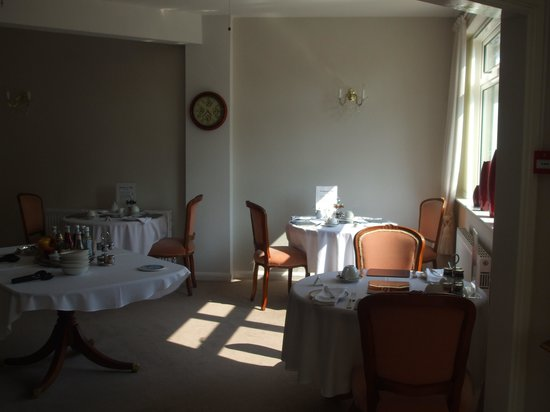 The Southbourne Villa: The dining room