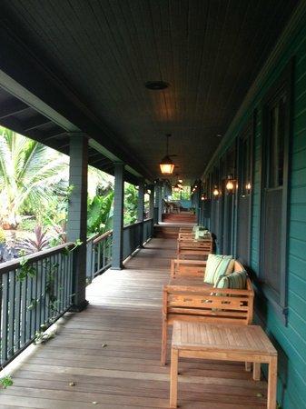 Lumeria Maui Retreat: lanai