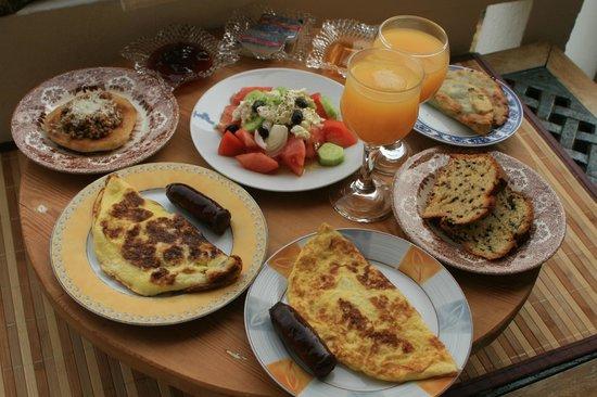 Villa Georgia Apartments&Suites: Le petit déjeuner