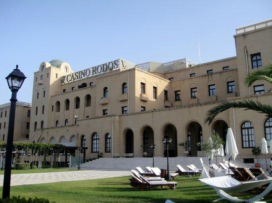 Grande Albergo delle Rose: Back of hotel and casino
