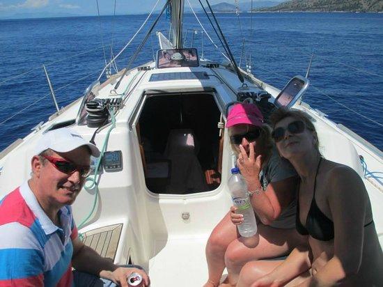 Neilson Retreat Beachclub: On the yacht Scirroco