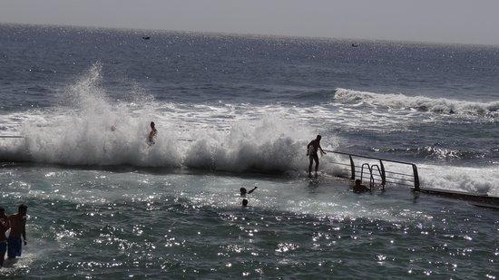 OCÉANO Hotel Health Spa: Meerwasserschwimmbad