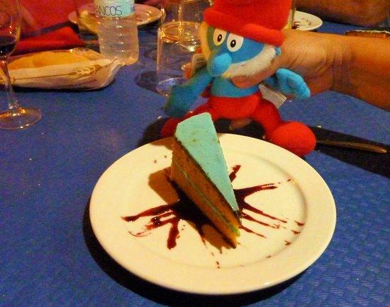 La Bodega del Bandolero: Smurf Cake