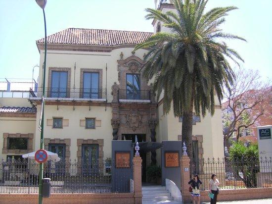 AC Hotel Ciudad de Sevilla: Hoteleingang