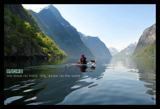 Njord - Seakayak and Wilderness Adventure Day Tours : Paddle kayak on the beautiful fjords of Norway