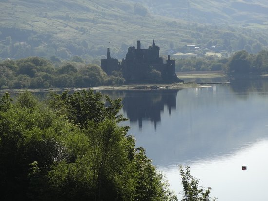 Loch Awe, UK : view from outdoor seating area
