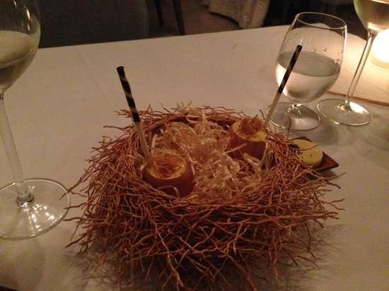 Greenhouse: Birds nest .. But not!! Beautiful and tastes amazing!